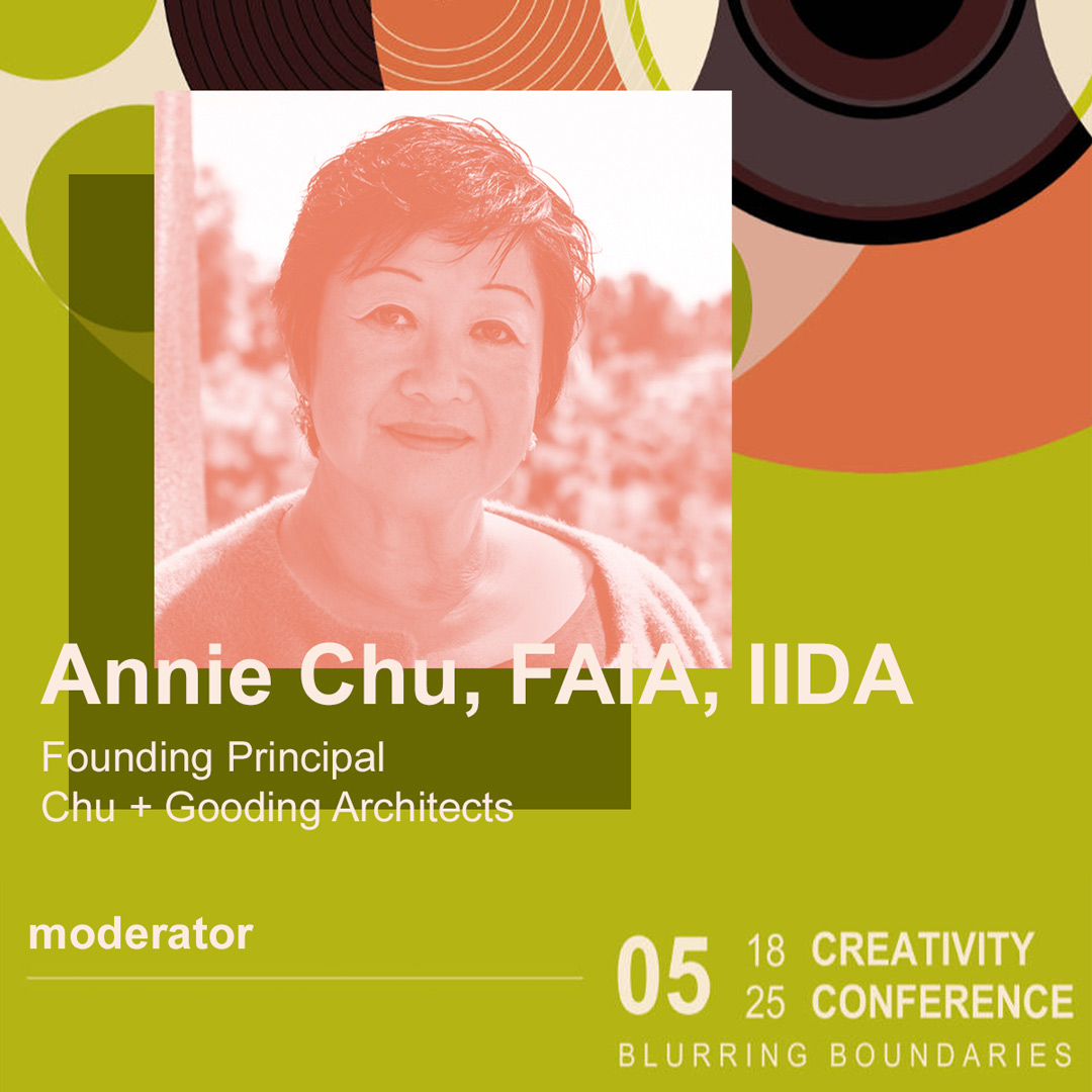 Annie Chu moderates Creativity Conference Day 2