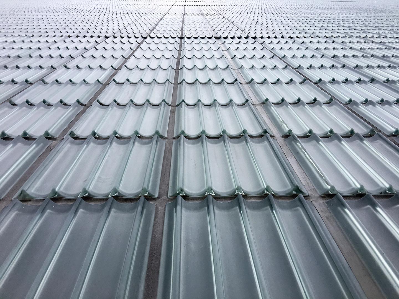 Glass Block Detail by Rafael Moneo