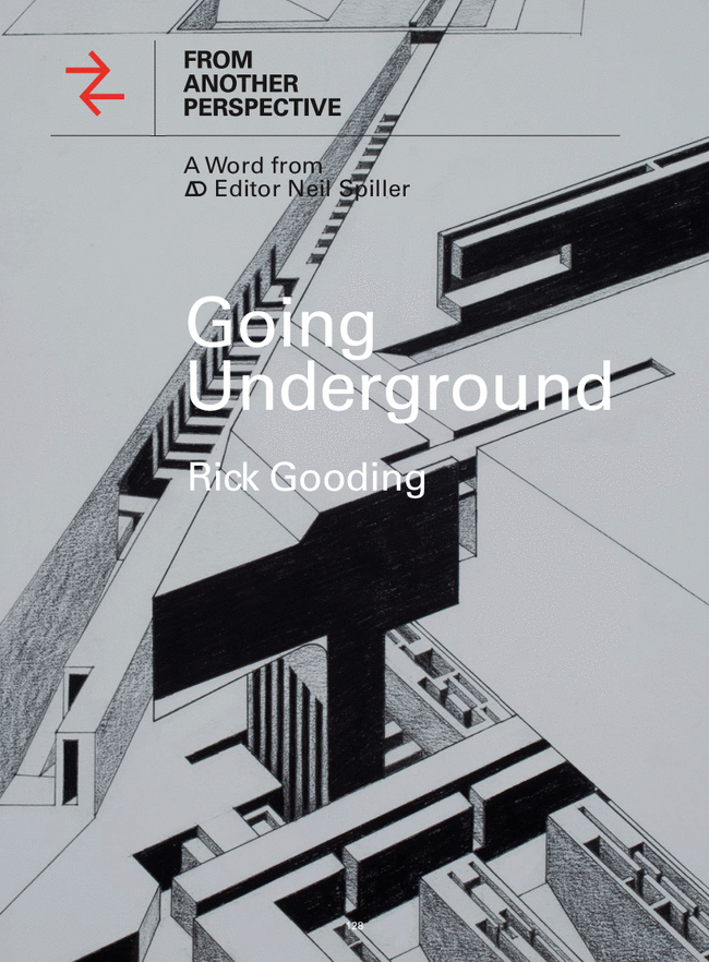 """Rick Gooding's """"Subterranea"""" Series Featured in AD Journal"""